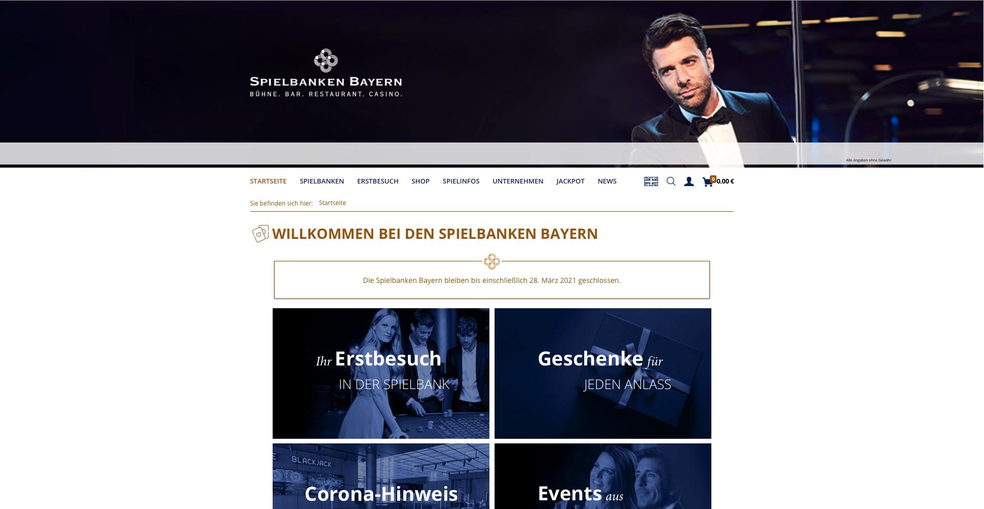 Content-Management | Spielbanken Bayern